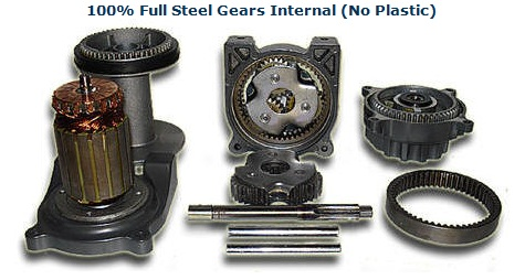 Steel- no plastic