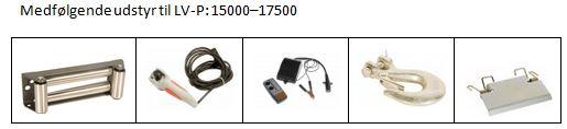 Udstyr LV-P15000-17500