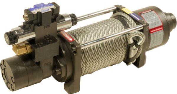 2-speed hydraulisk trækspil